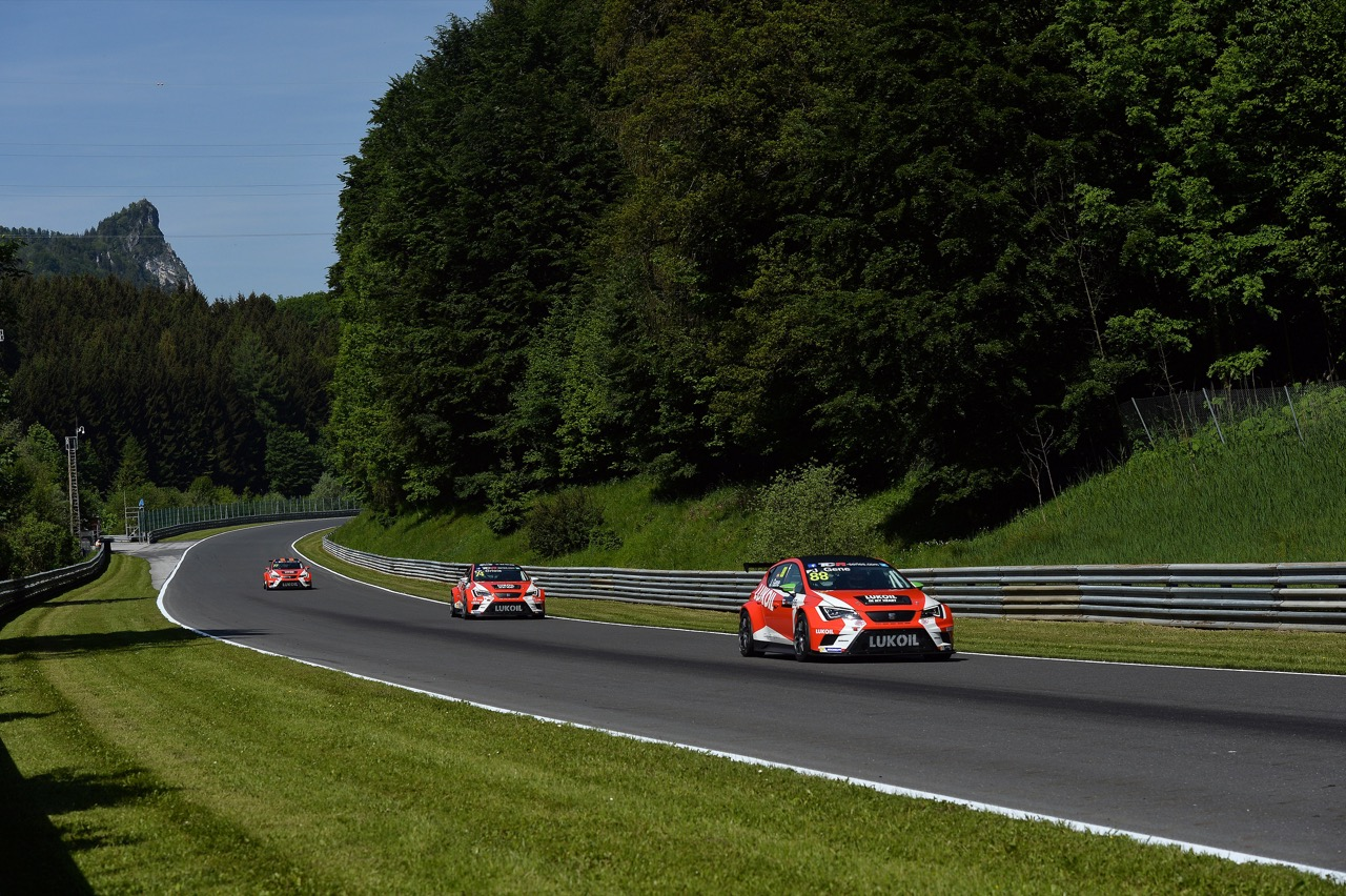 TCR series Salzburgring, Austria 29 - 31 05 2015