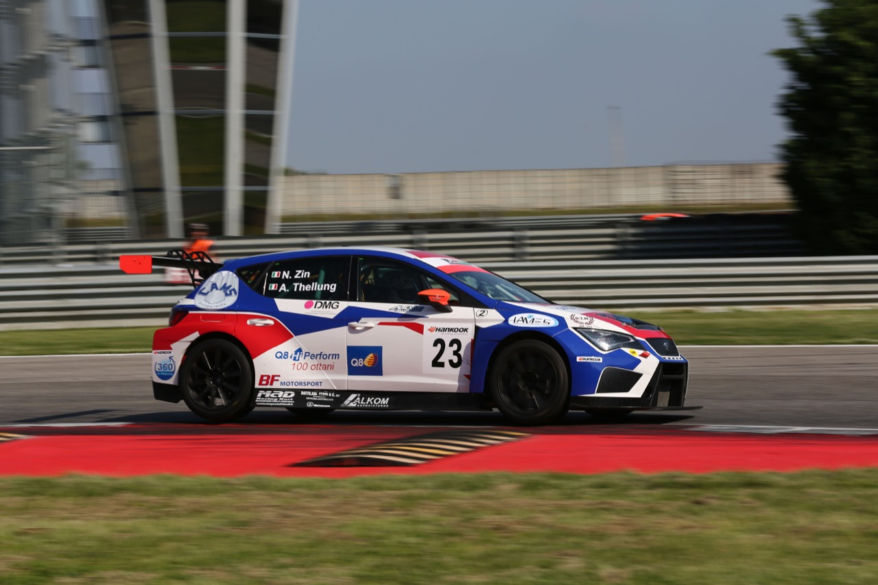 Thellung-Zin (BF Racing,Seat Leon-TCR #23)