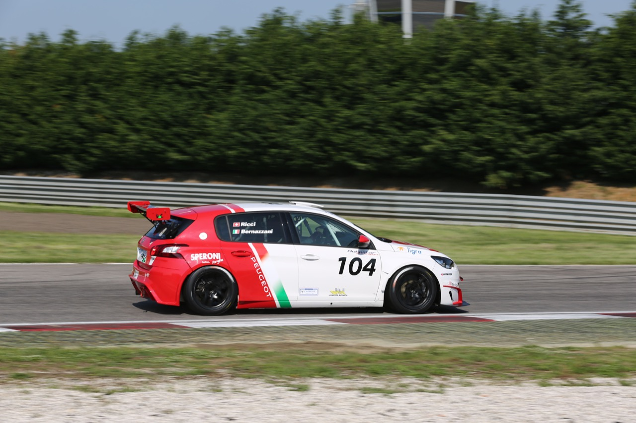 Ricci-Bernazzani  (Arduini Corse,PeugeoT 308 MI16-TCT#104)