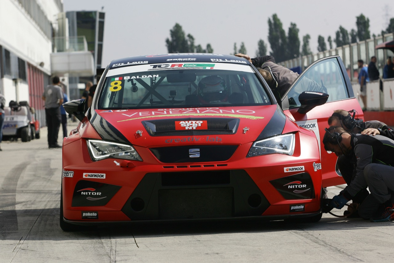Nicola Baldan (Pit Lane,Seat Leon TCR-TCR #8)