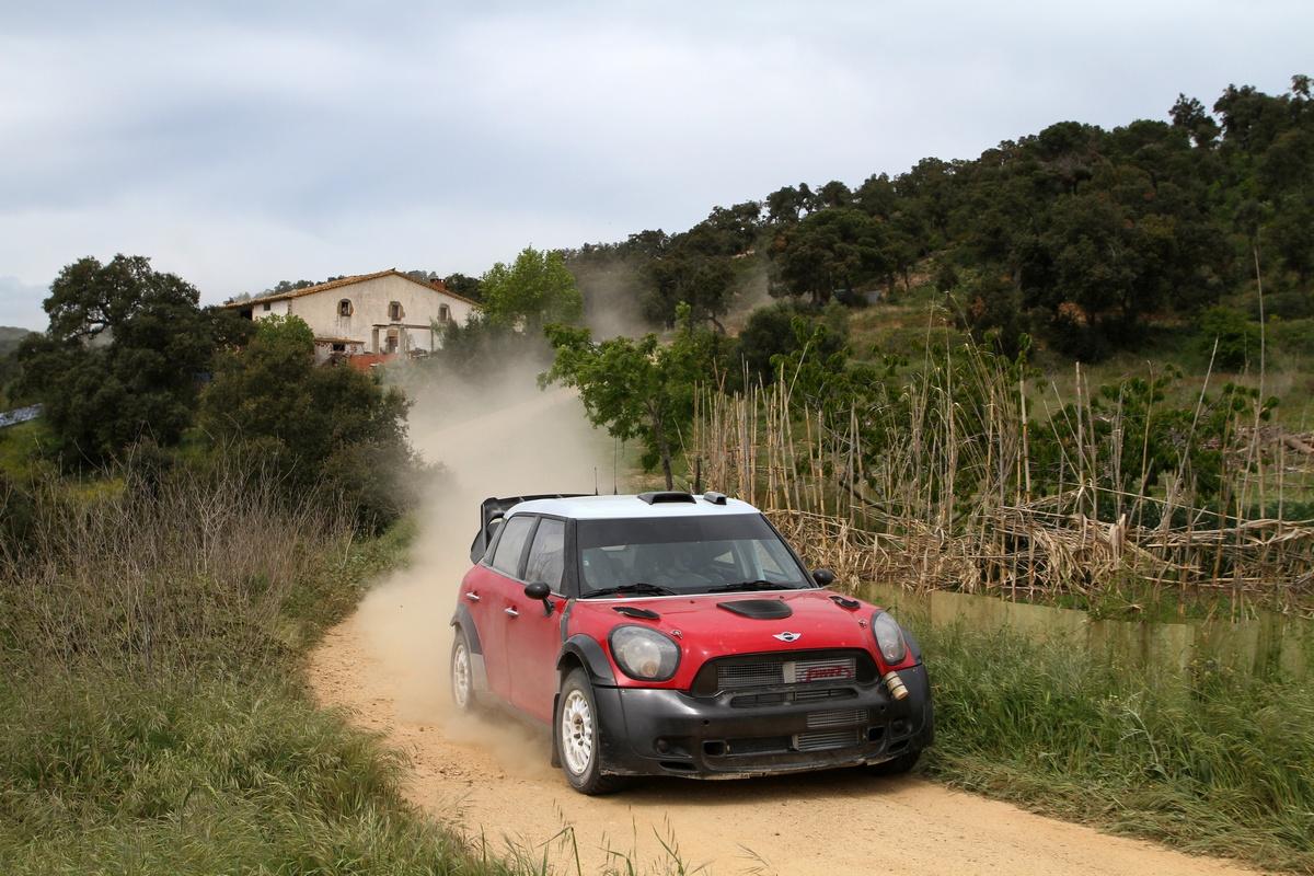 Test Mini Countryman WRC - Girona - aprile 2011