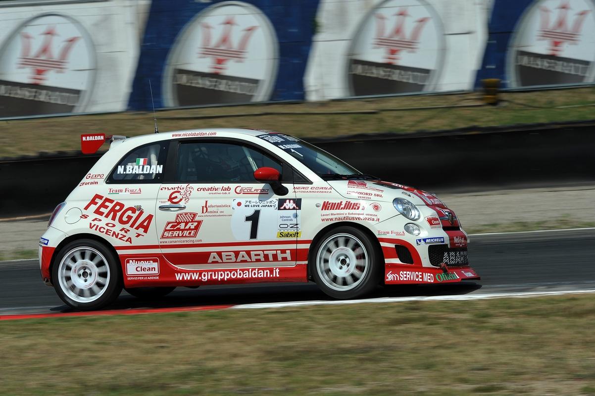 Trofeo Abarth 500 Italia - Varano - 2011