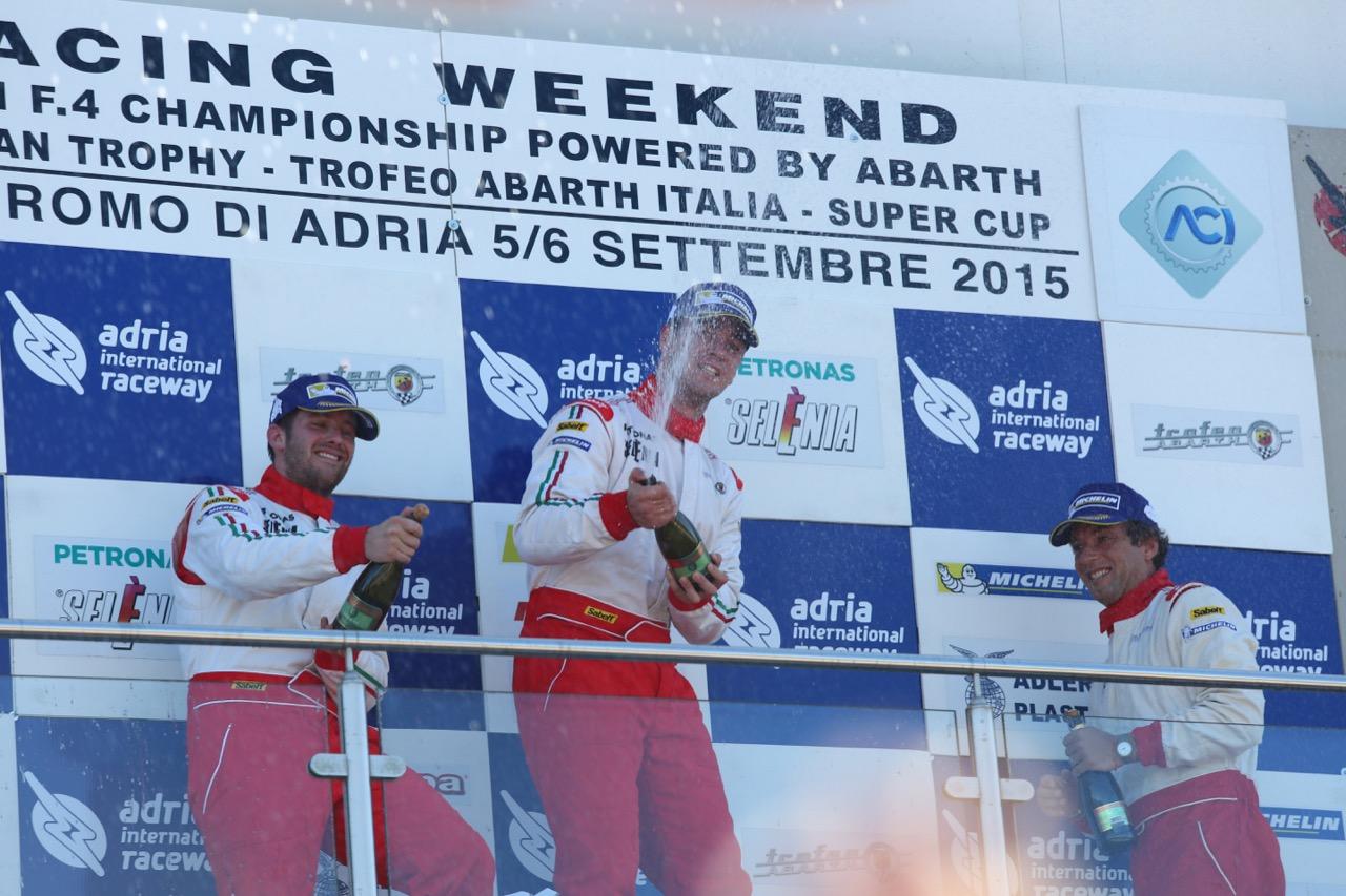 Trofeo Abarth Italia Adria (ITA) 05-06 09 2015