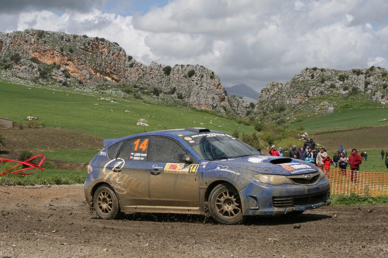 Daniel Landa, Petr Novak (Subaru Impreza N4 #14, Motoring Club)