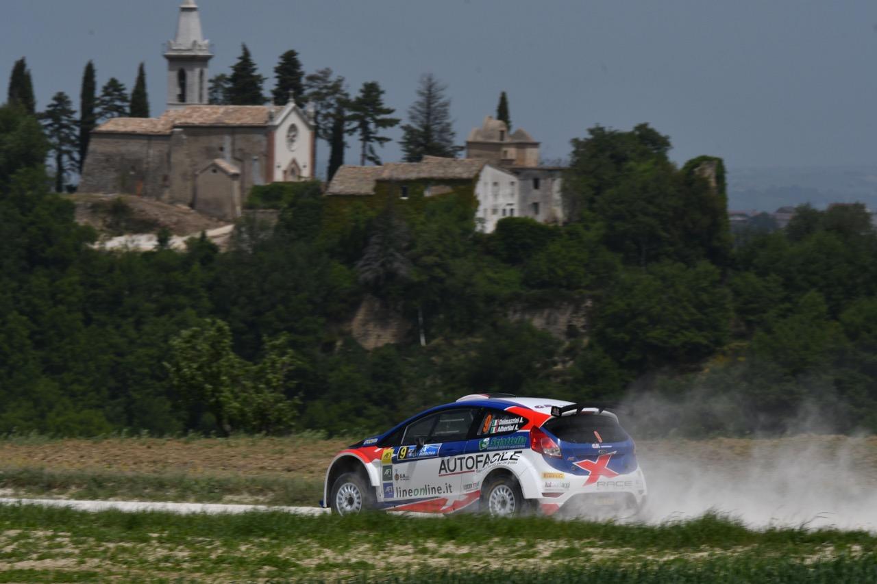 Andrea Dalmazzini (ITA) - Andrea Albertini (ITA) - Ford Fiesta R/R5, X Race Sport