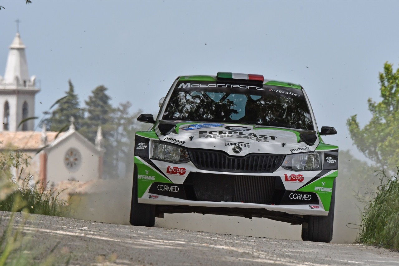 Dedo (ITA) - Emanuele Inglesi (ITA) - Skoda Fabia R/R5, Motorsport Italia