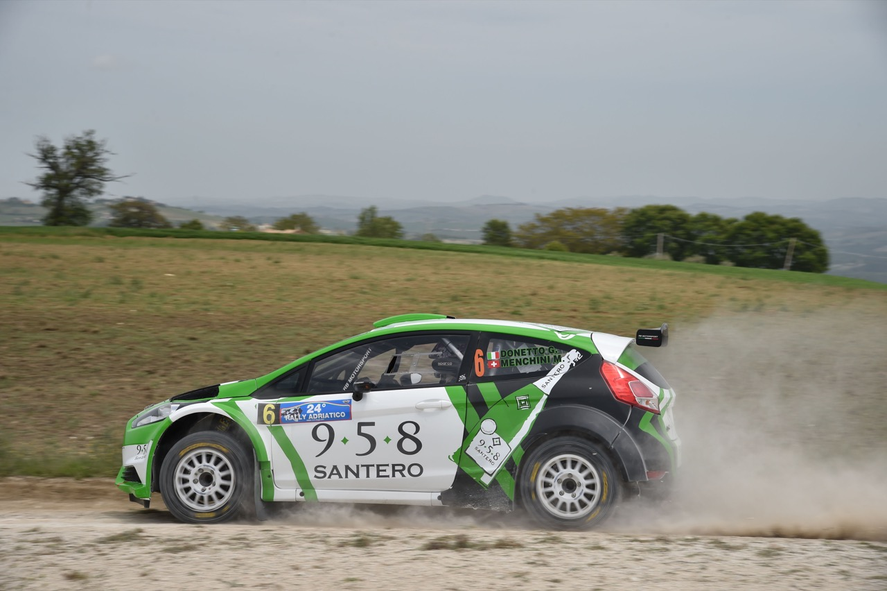 Gianmarco Donetto (ITA) - Marco Menchini (ITA) - Ford Fiesta R/R5, Eurospeed