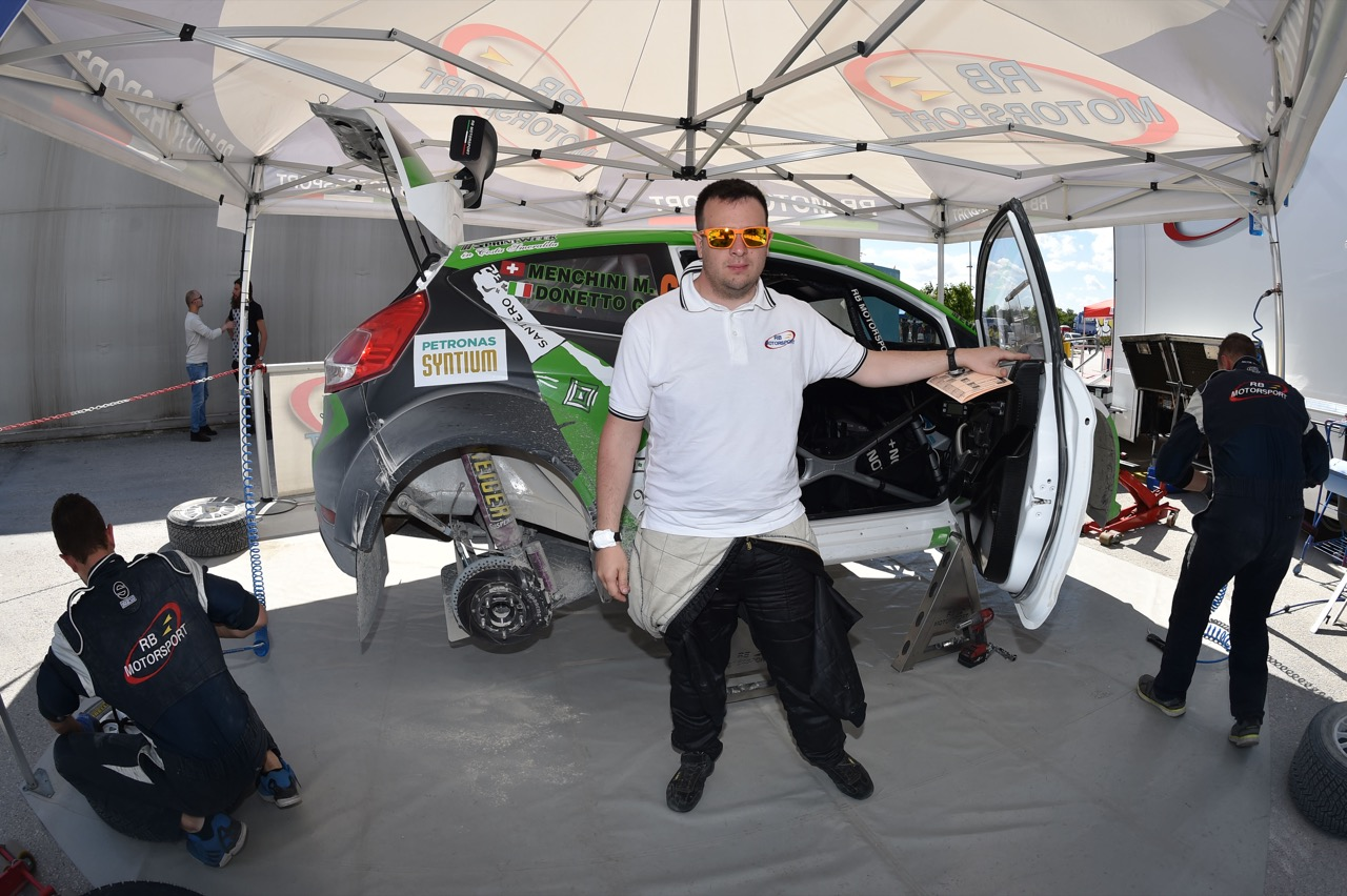 Marco Menchini (ITA) - Ford Fiesta R/R5, Eurospeed