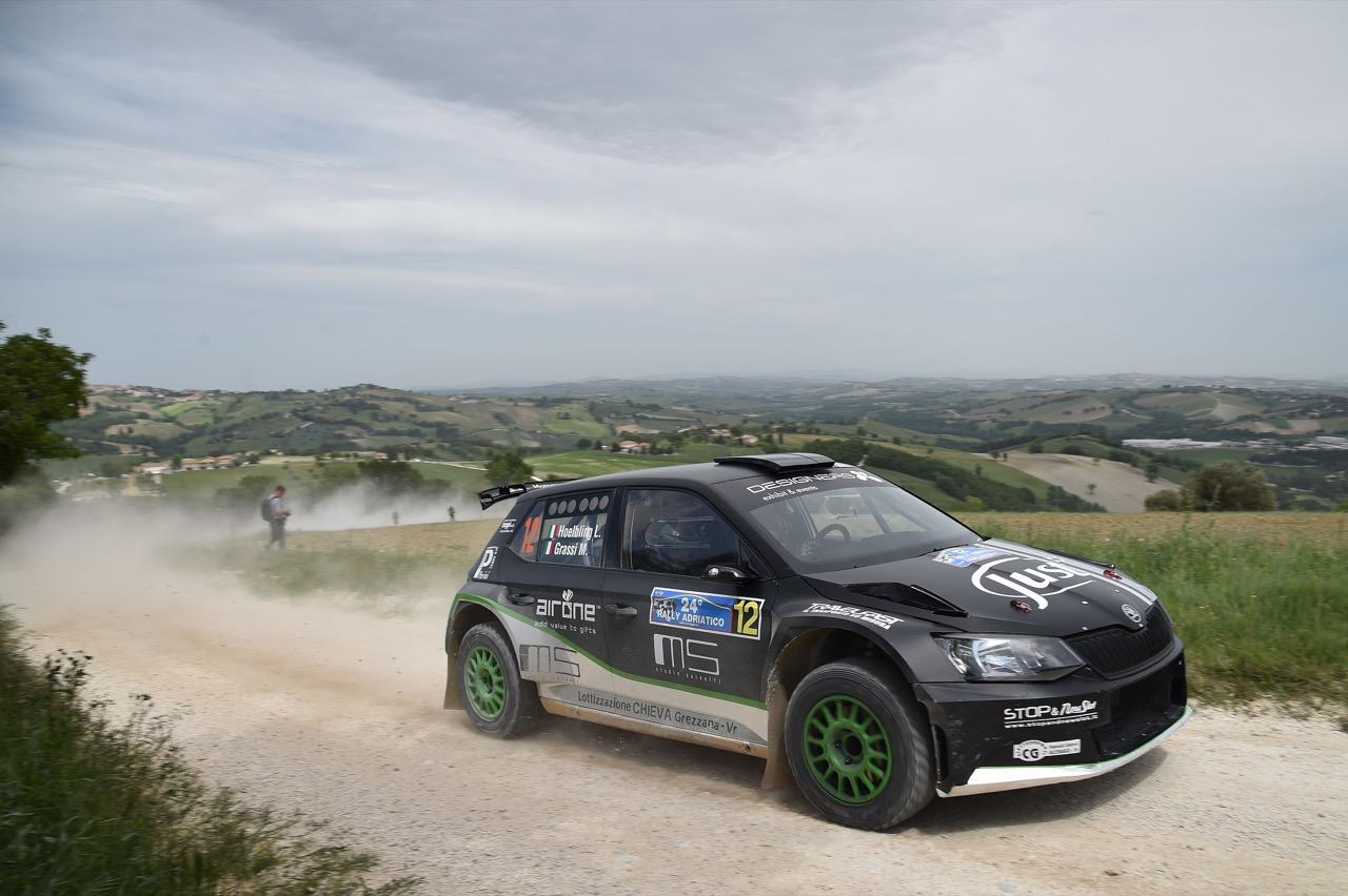 Luca Hoelbling (ITA) - Mauro Grassi (ITA) - Skoda Fabia R/R5, Car Racing