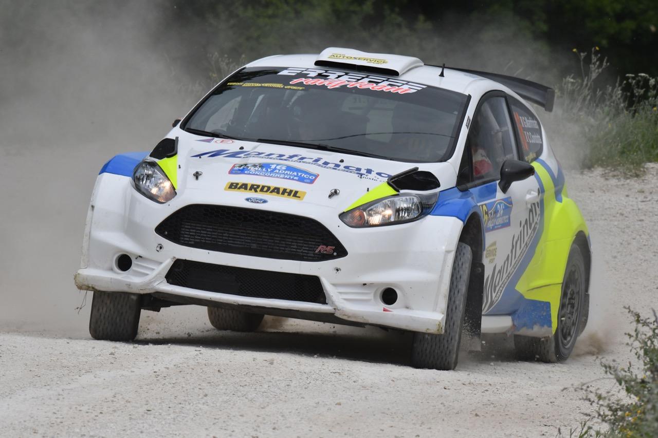 Giovanni Manfrinato (ITA) - Claudio Condotta (ITA) - Ford Fiesta R/R5, Team Autoservice Sport