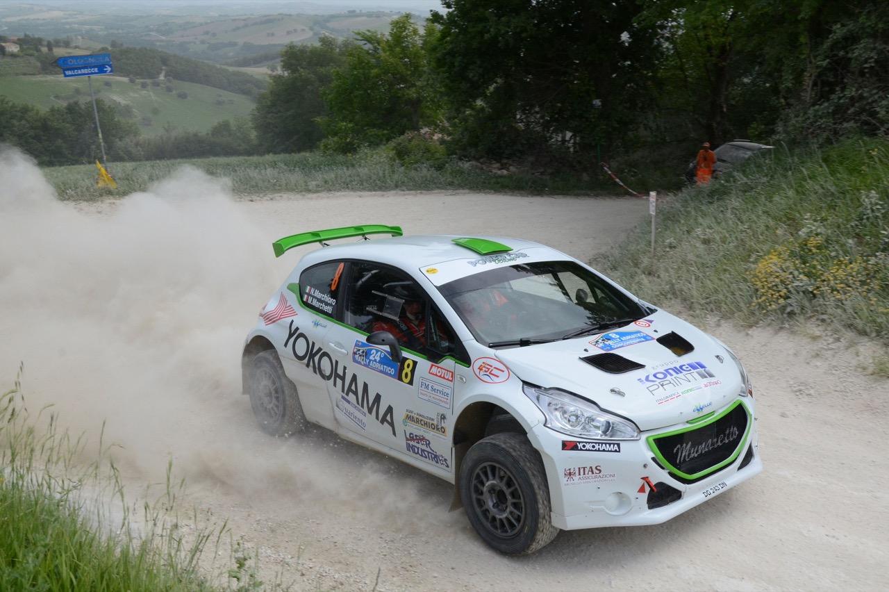 Nicolo' Marchioro  (ITA) - Marco Marchetti (ITA) - Peugeot 208 R/R5, Power Car Team 208