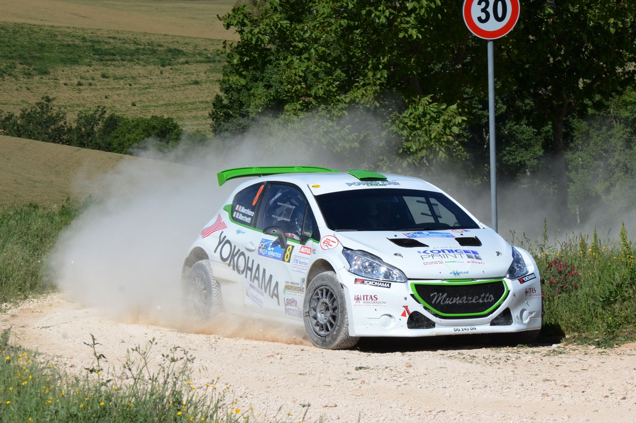 Nicolo' Marchioro  (ITA) - Marco Marchetti (ITA) - Peugeot 208 R/R5, Power Car Team 208