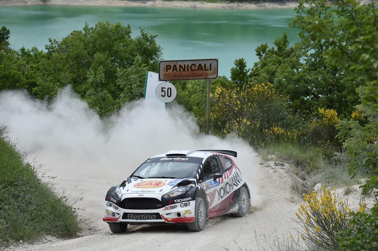 Luigi Ricci (ITA) - Alessandro Biordi (RSM) - Ford Fiesta R/R5, Movisport