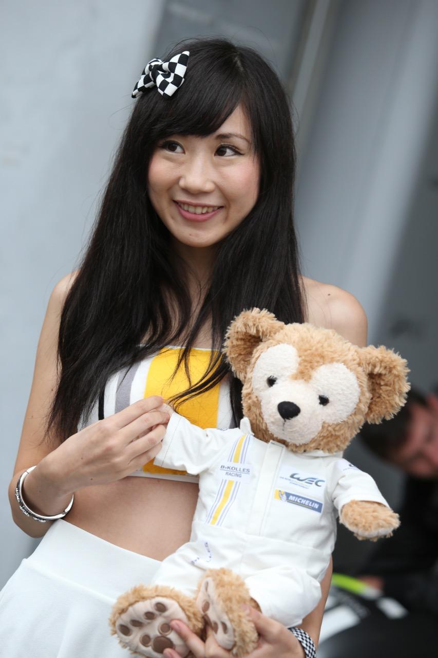 A fan with a teddy bear. 10.10.2015.