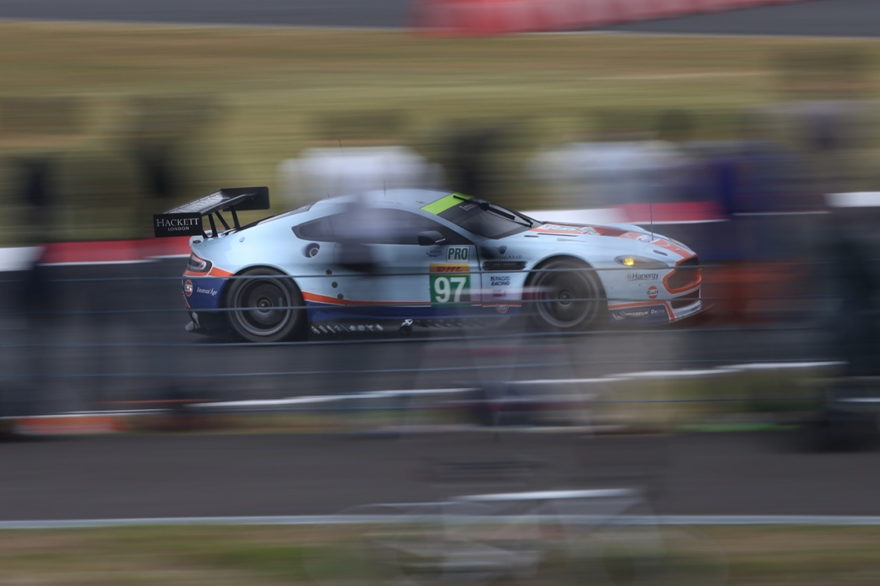 Darren Turner (GBR) / Jonathan Adam (GBR) #97 Aston Martin Vantage V8. 10.10.2015.