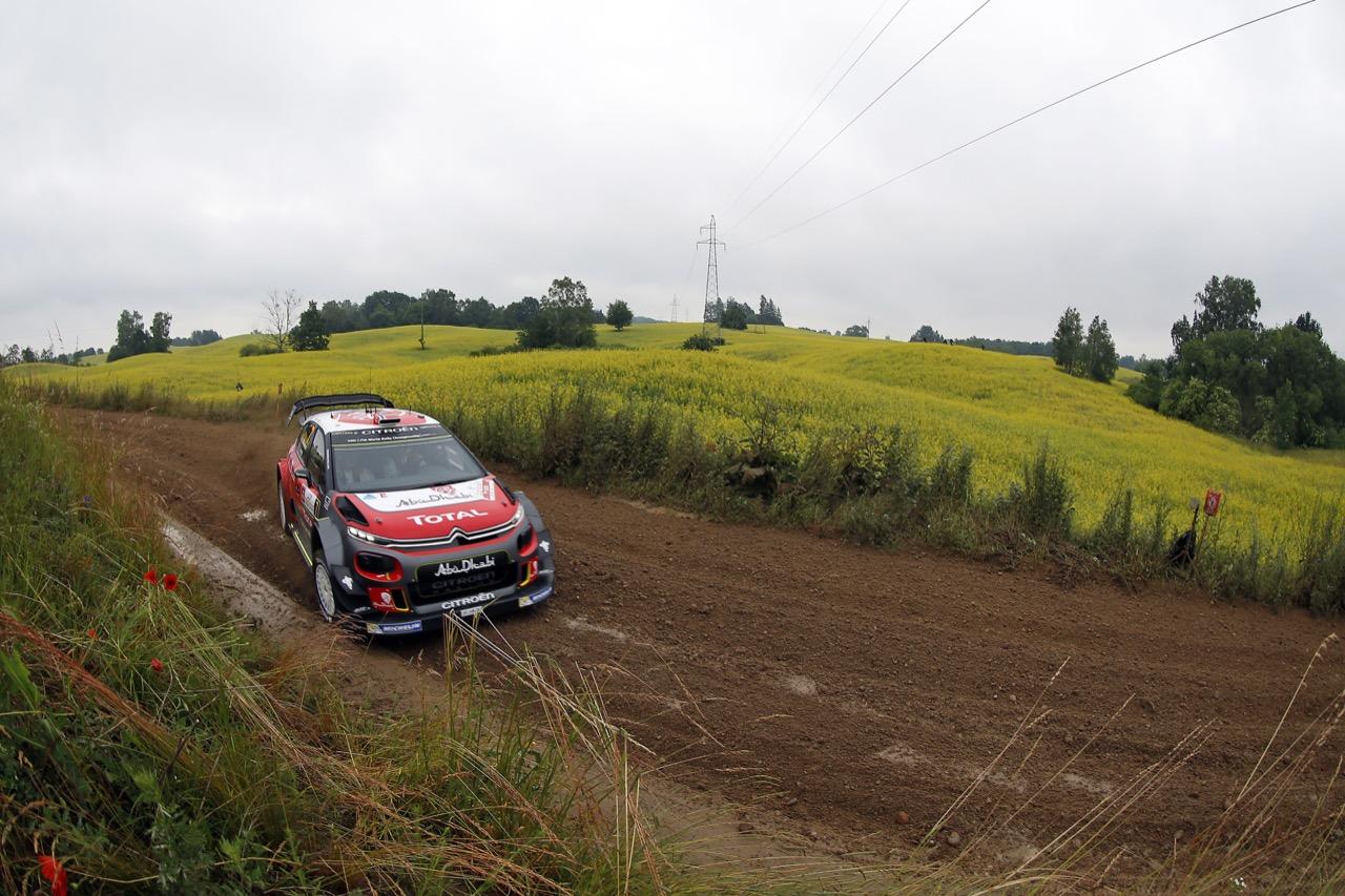 29.06.2017 - Shakedown, Andreas Mikkelsen (NOR)-Anders Jaeger (NOR) CITROEN C3 WRC, CITROEN TOTAL ABU DHABI WRT