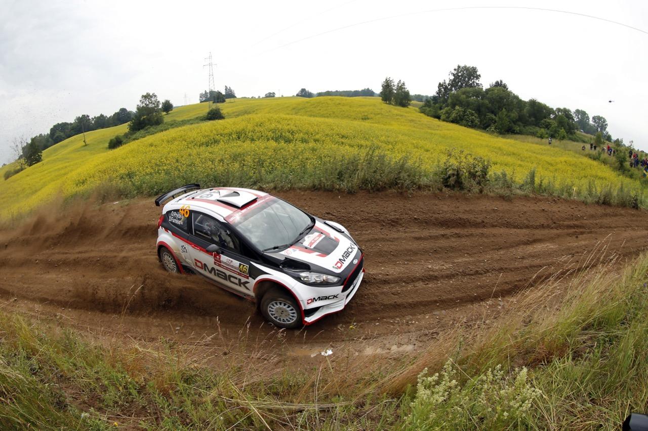 29.06.2017 - Shakedown, Osian Pryce (GBR) - Dale Furniss (GBR) Ford Fiesta R5, Drive DMACK Team