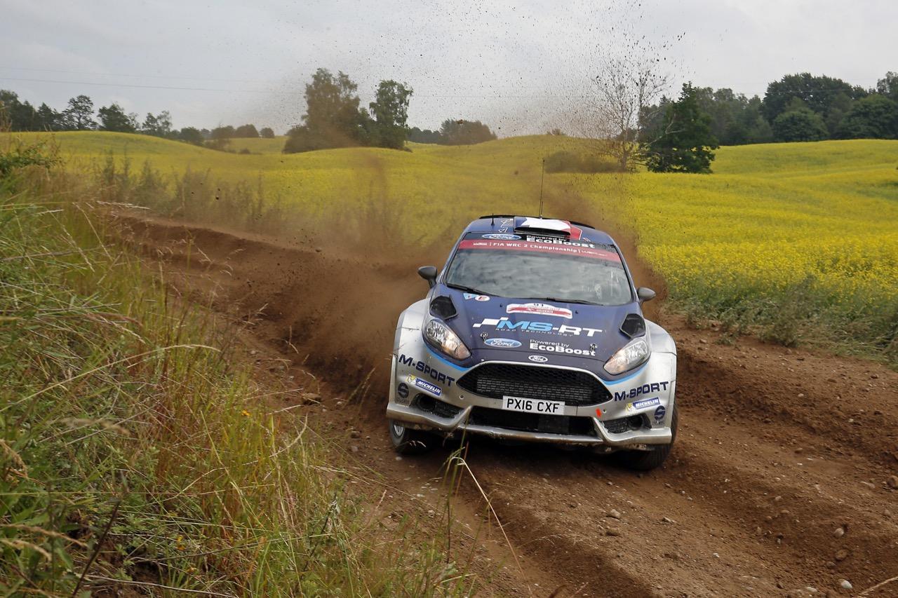 29.06.2017 - Shakedown, Eric Camilli (FRA)-Benjamin Veillas (FRA) Ford Fiesta, M‐Sport World Rally Team