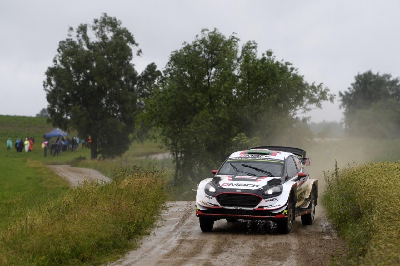 30.06.2017 - Elfyn Evans (GBR)-Daniel Barritt (GBR) Ford Fiesta WRC, M‐Sport World Rally Team