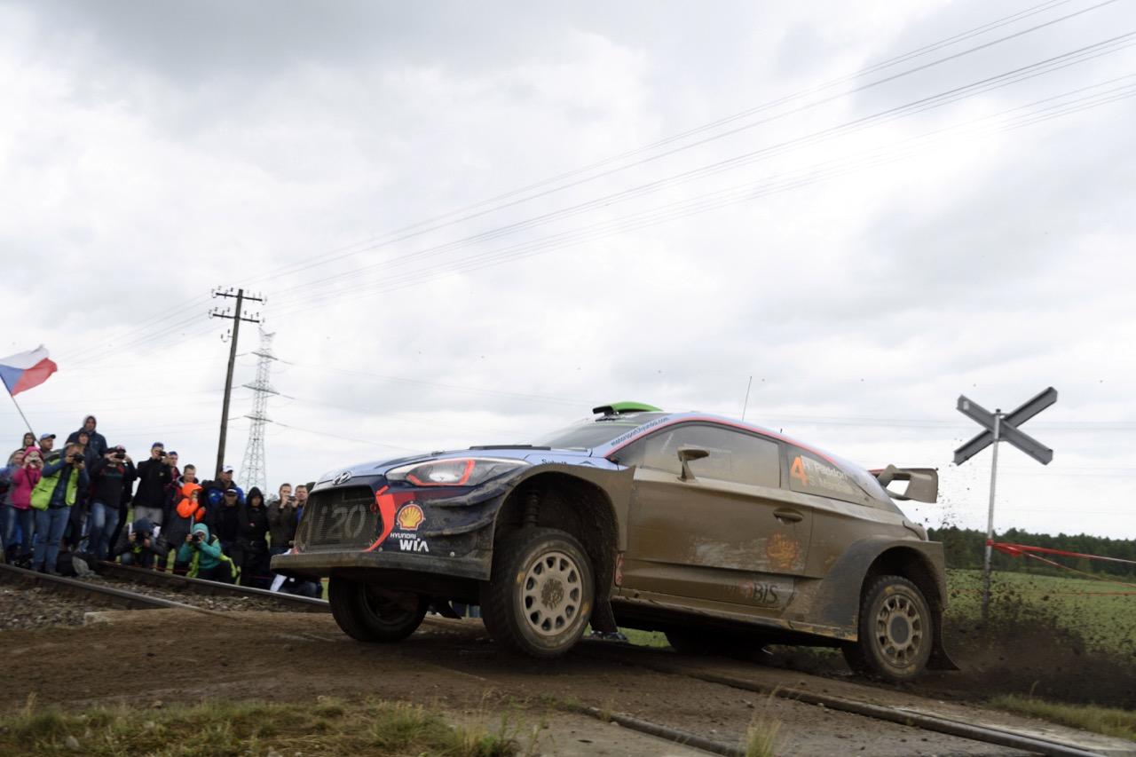 30.06.2017 - Hayden Paddon (NZL)-John Kennard (NZL) Hyundai i20 Coupe WRC, Hyundai Motorsport
