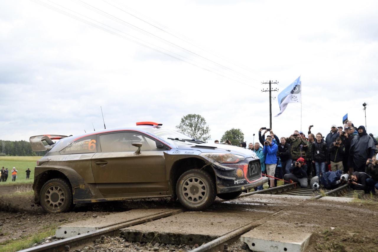 30.06.2017 - Dani Sordo (ESP)-Marc Marti (ESP),Hyundai i2 Coupe WRC, Hyundai Motorsport