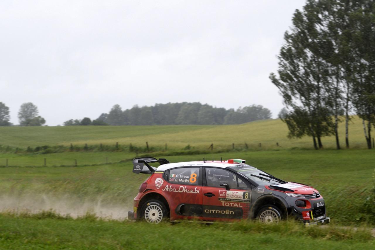 30.06.2017 - Craig Breen (IRL)-Scott Martin (GBR) Citroen C3 WRC, Citroen Total Abu Dhabi WRT