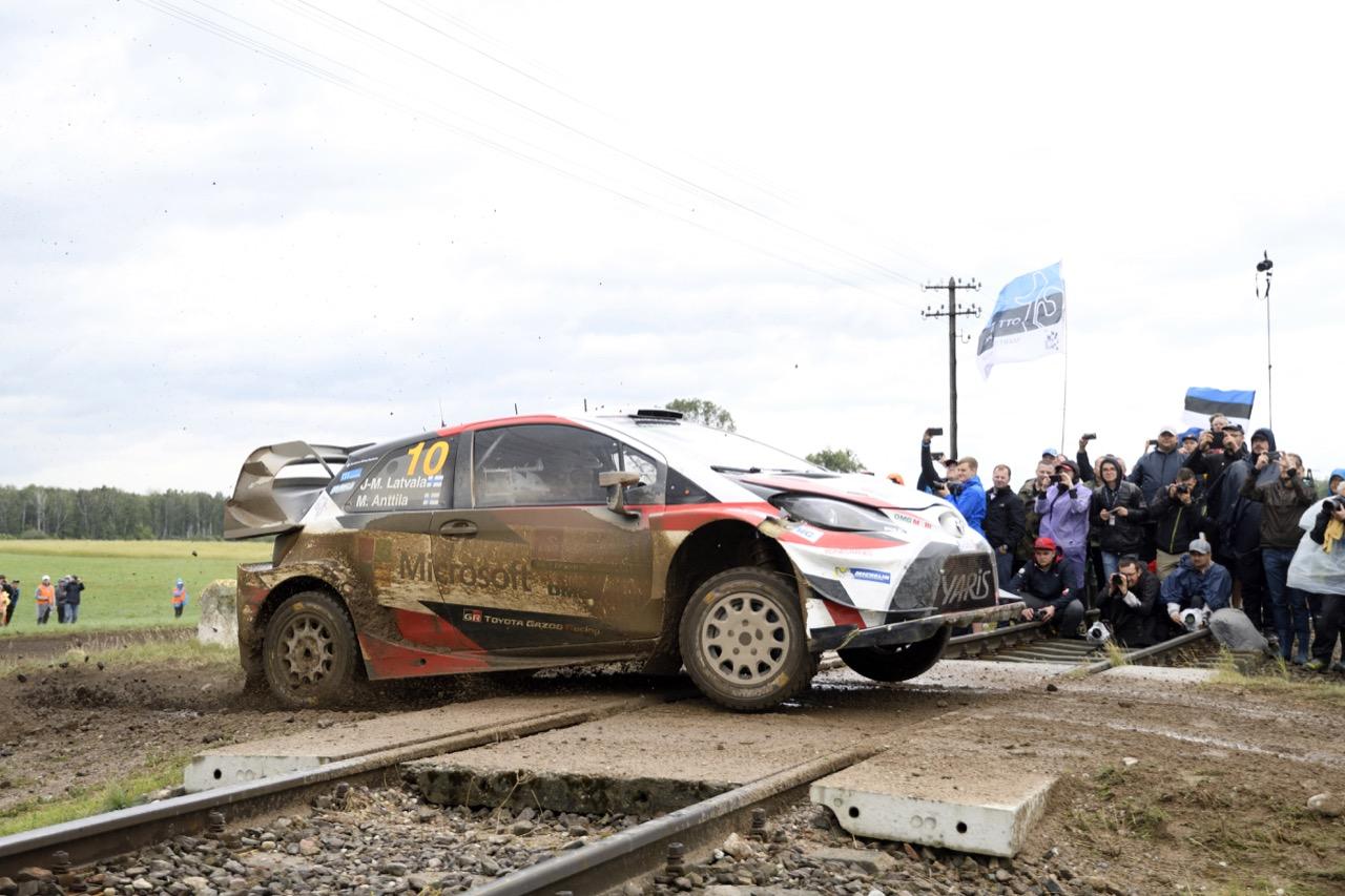 30.06.2017 - Jari-Matti Latvala (FIN)-Miikka Anttila (FIN) Toyota Yaris WRC, Toyota Gazoo Racing WRT