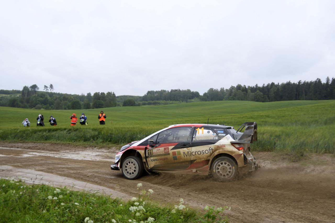30.06.2017 - Juho Hanninen (FIN)-Kaj Lindstrom (FIN) Toyota Yaris WRC, Toyota Gazoo Racing WRT
