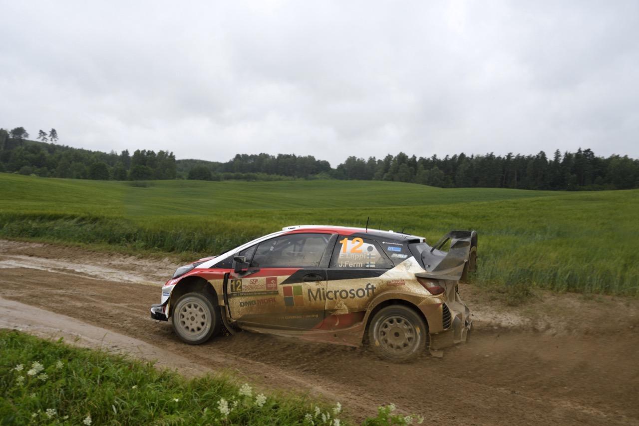 30.06.2017 - Essapeka Lappi (FIN) Janne Ferm (FIN), TOYOTA YARIS WRC, TOYOTA GAZOO RACING WRT
