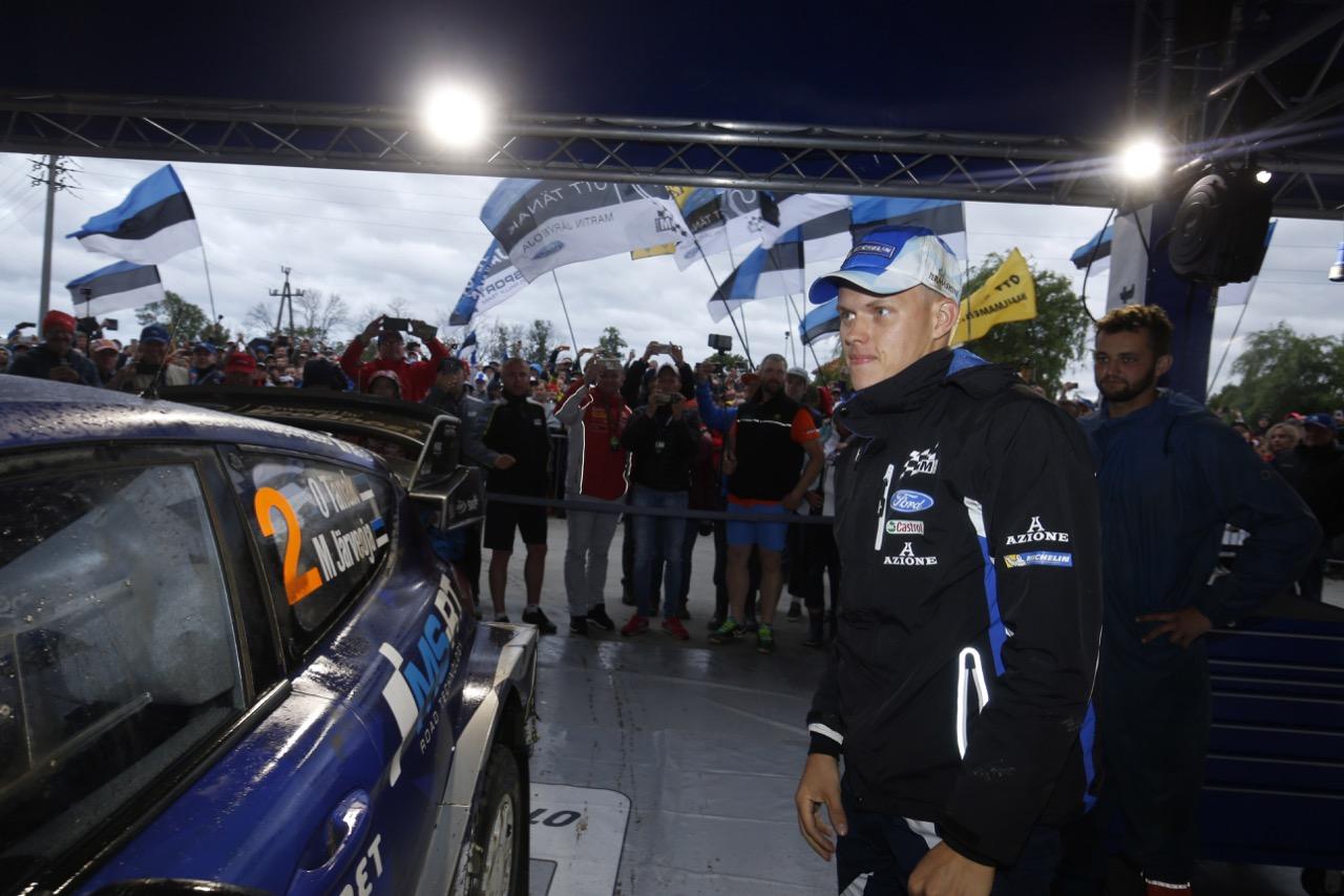 30.06.2017 - Ott Tanak (EAU) Ford Fiesta WRC, M‐Sport World Rally Team