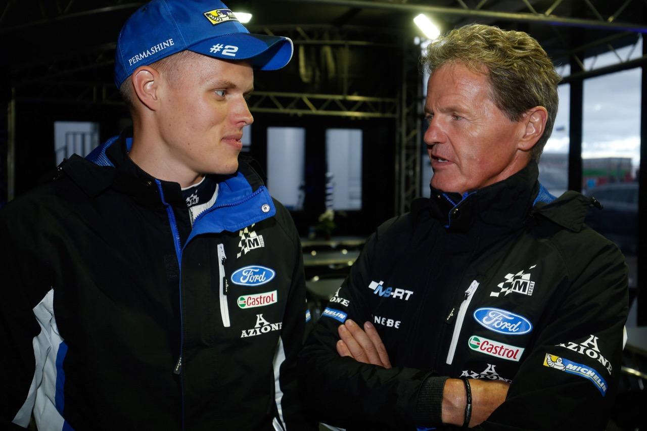 30.06.2017 - Ott Tanak (EAU) ,Ford Fiesta WRC, M‐Sport World Rally Team and Malcolm Wilson, Team Manager M-SPORT WORLD RALLY TEAM