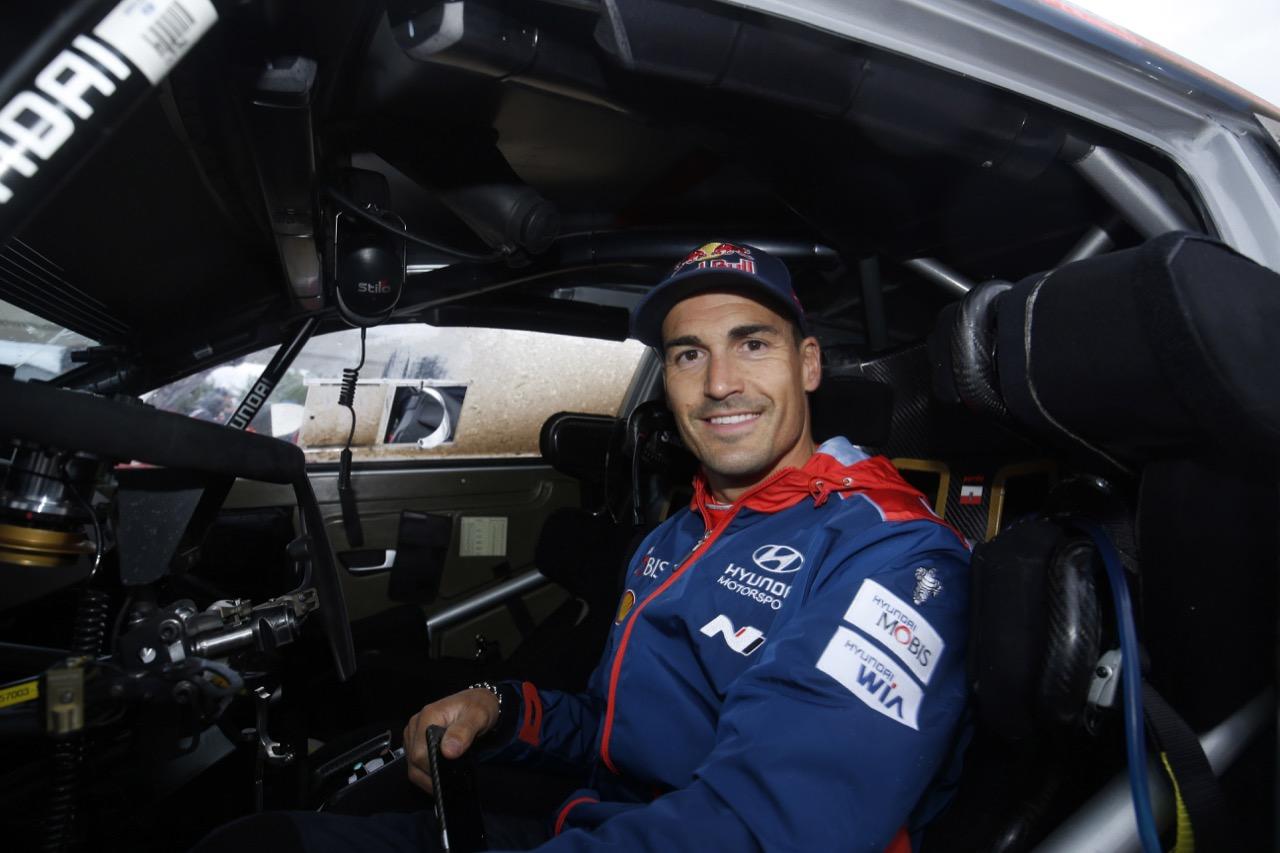 30.06.2017 - Dani Sordo (ESP) Hyundai i2 Coupe WRC, Hyundai Motorsport