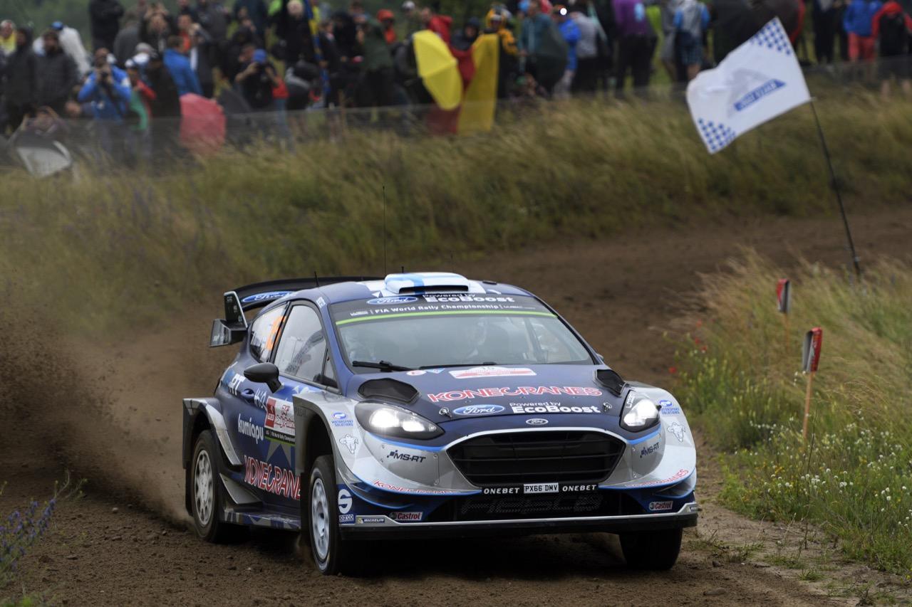 29.06.2017 - Shakedown, Teemu Suninen (FIN) - Mikko Markkula (FIN) Ford Fiesta WRC, M-Sport World Rally Team