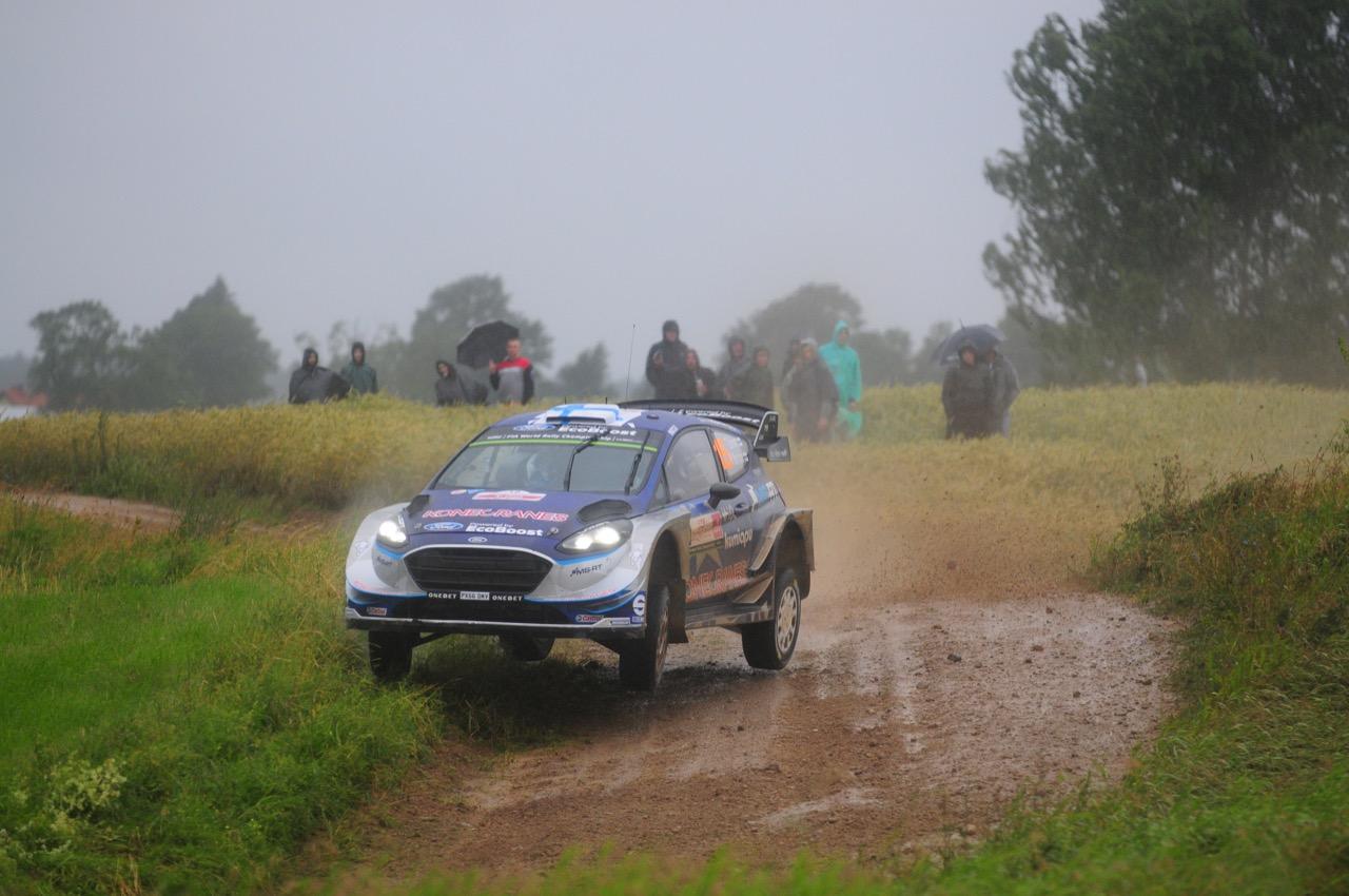 30.06.2017 - Teemu Suninen (FIN) - Mikko Markkula (FIN) Ford Fiesta WRC, M-Sport World Rally Team