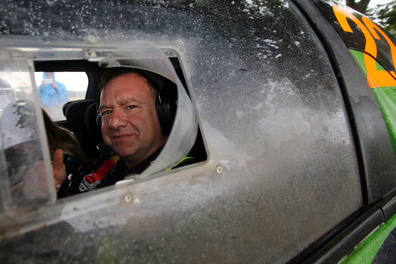 30.06.2017 - Jourdan Serderidis (GRC) - Lara Vanneste (BEL) Citroen DS3 WRC