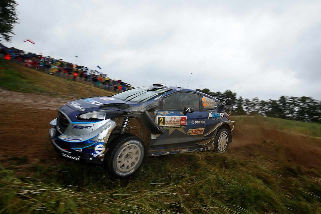 30.06.2017 - Ott Tanak (EAU)-Martin Jarveoja (EST),Ford Fiesta WRC, M‐Sport World Rally Team