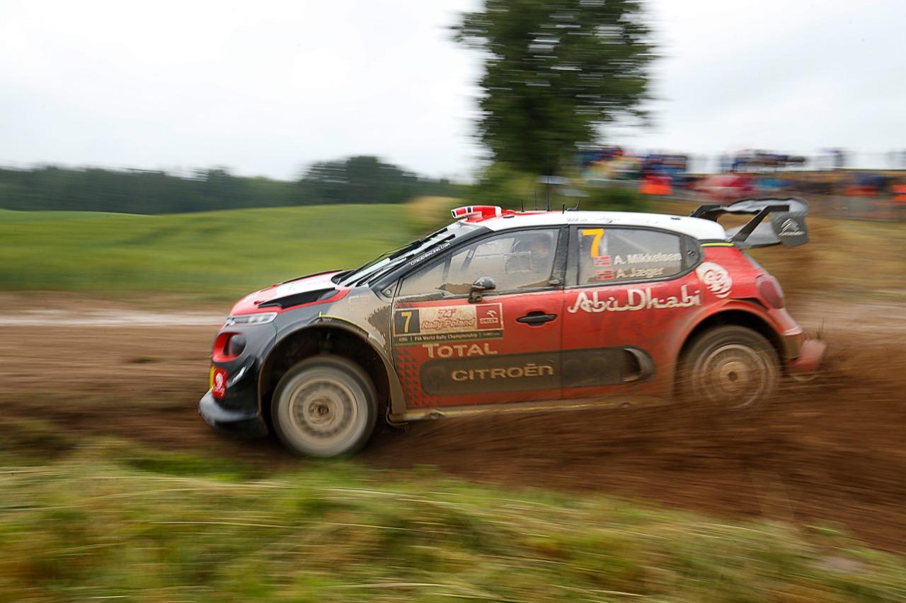 30.06.2017 - Andreas Mikkelsen (NOR)-Anders Jaeger (NOR) CITROEN C3 WRC, CITROEN TOTAL ABU DHABI WRT