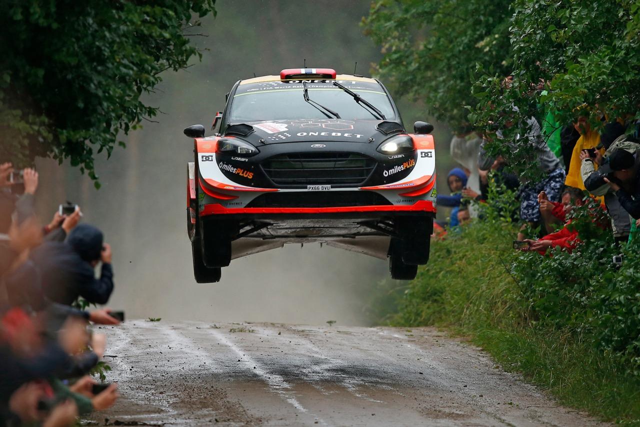 30.06.2017 - Mads Ostberg (NOR)-Ola Floene (NOR) Ford Fiesta WRC, M‐Sport World Rally Team