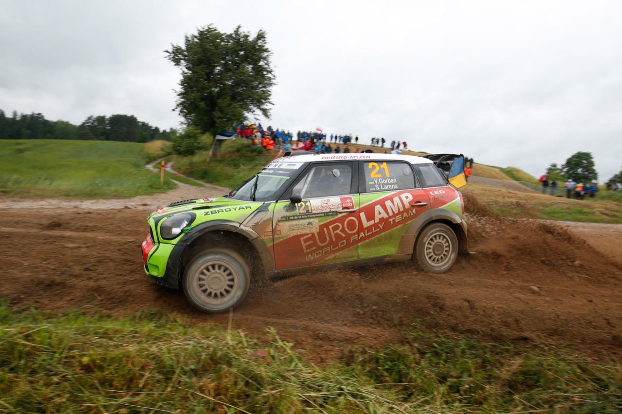 30.06.2017 - Valeriy Gorban (UKR)-Sergei Larens (EST) BMW‐Mini John Cooper Works, Eurolamp World Rally Team