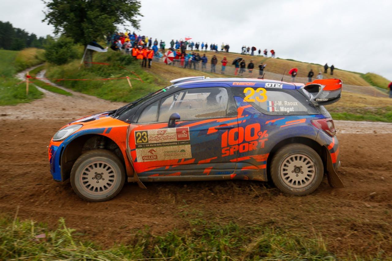 30.06.2017 - Jean-Michel Raoux (FRA) - Laurent Magat (FRA) Citroen DS3 WRC