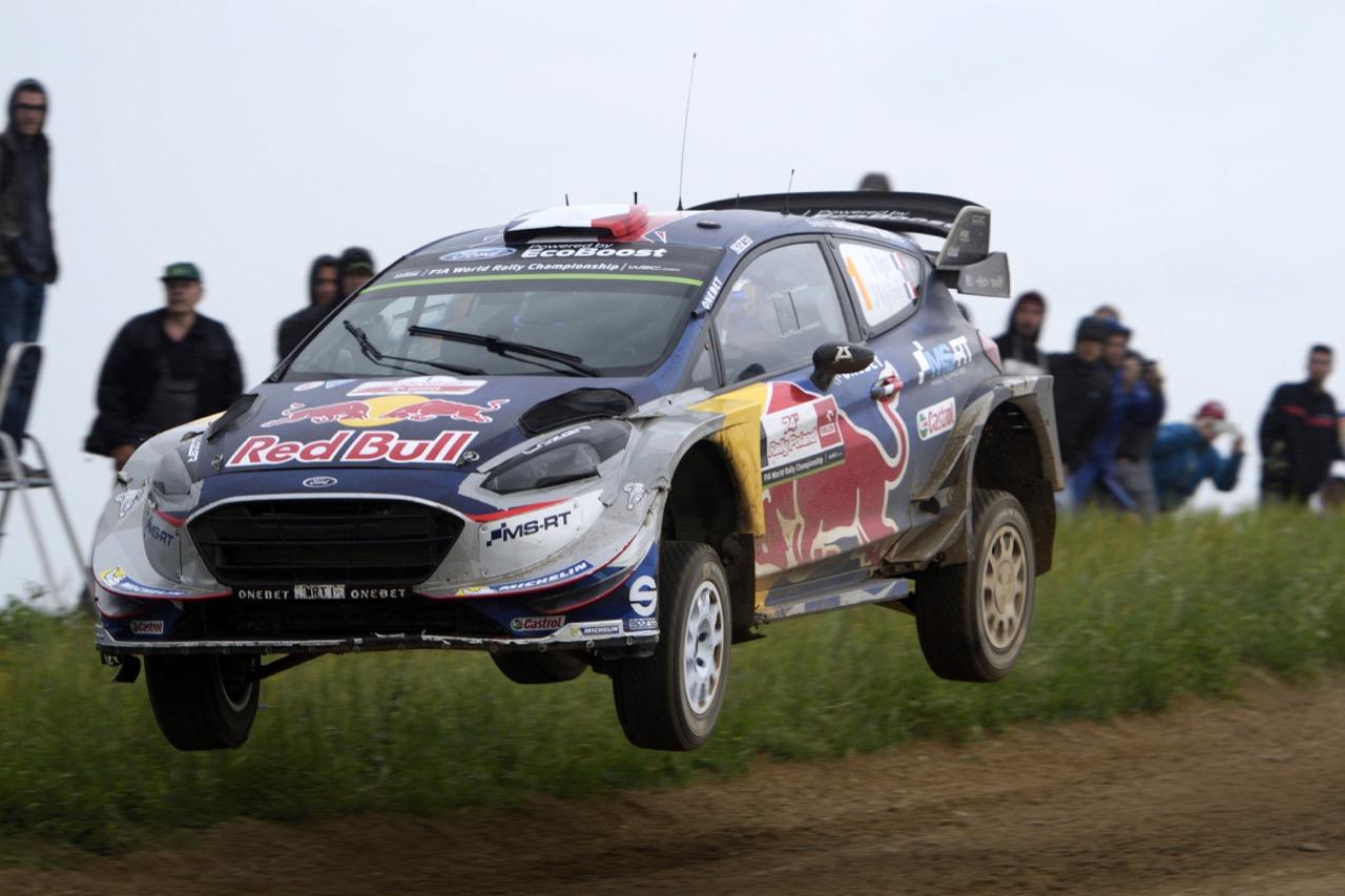 01.07.2017 - Sébastien Ogier (FRA)-Julien Ingrassia (FRA) Ford Fiesta WRC, M‐Sport World Rally Team
