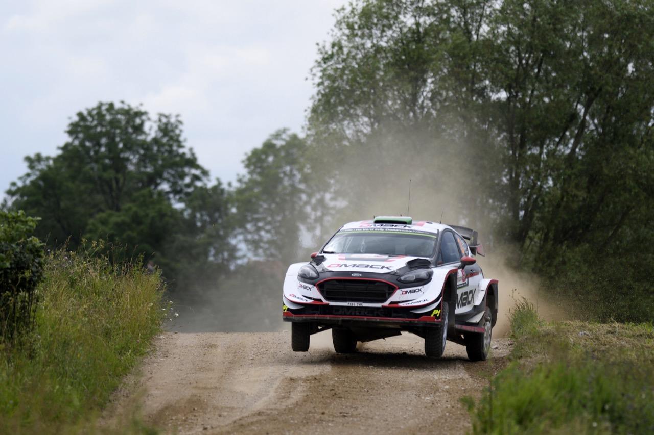 01.07.2017 - Elfyn Evans (GBR)-Daniel Barritt (GBR) Ford Fiesta WRC, M‐Sport World Rally Team