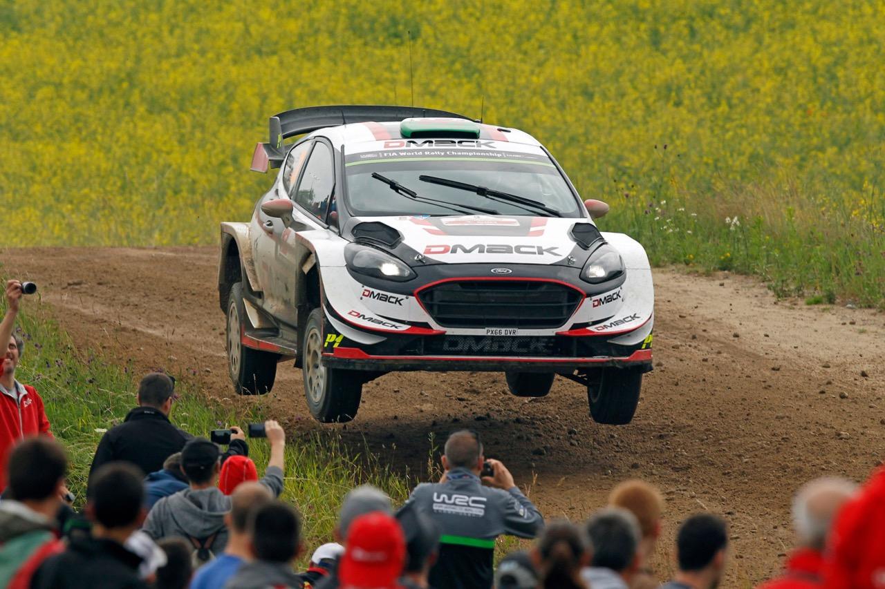 29.06.2017 - Shakedown, Elfyn Evans (GBR)-Daniel Barritt (GBR) Ford Fiesta WRC, M‐Sport World Rally Team