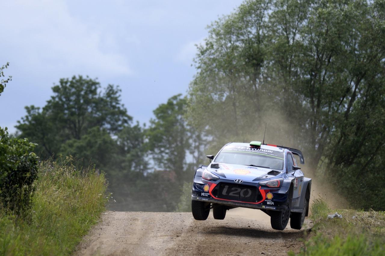 01.07.2017 - Hayden Paddon (NZL)-John Kennard (NZL) Hyundai i20 Coupe WRC, Hyundai Motorsport
