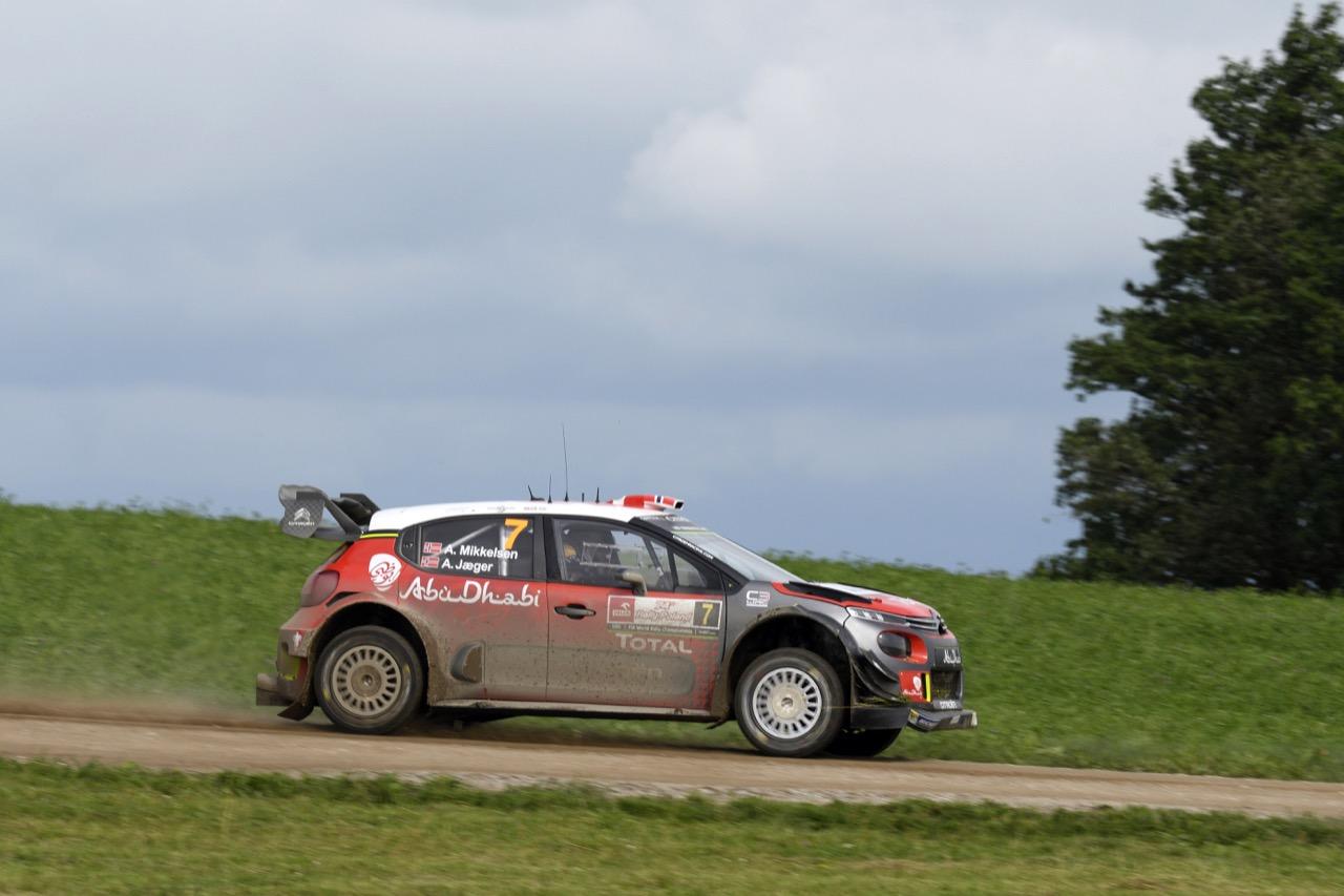 01.07.2017 - Andreas Mikkelsen (NOR)-Anders Jaeger (NOR) CITROEN C3 WRC, CITROEN TOTAL ABU DHABI WRT