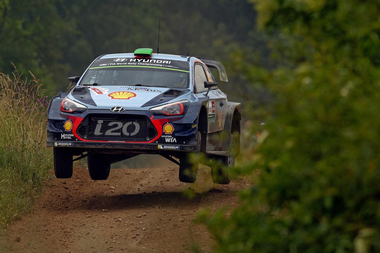 29.06.2017 - Shakedown, Hayden Paddon (NZL)-John Kennard (NZL) Hyundai i20 Coupe WRC, Hyundai Motorsport