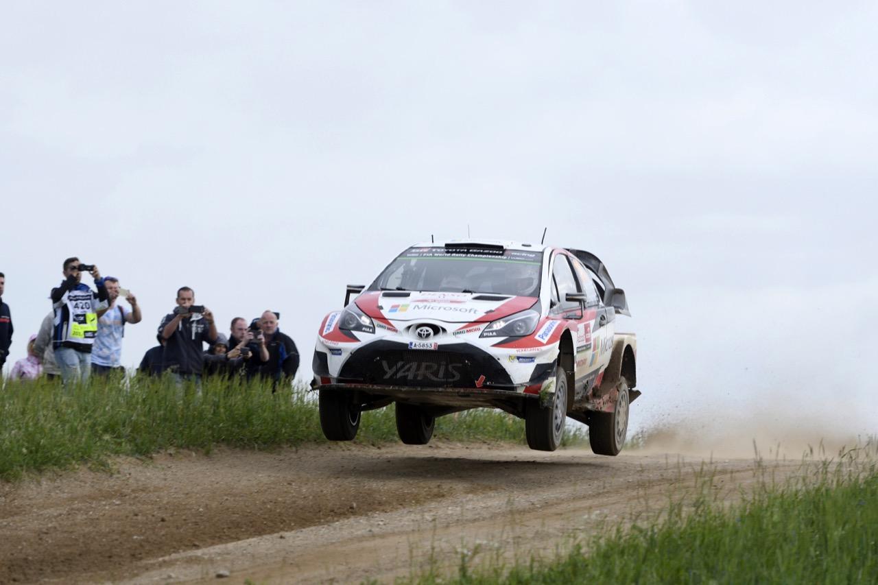 01.07.2017 - Juho Hanninen (FIN)-Kaj Lindstrom (FIN) Toyota Yaris WRC, Toyota Gazoo Racing WRT