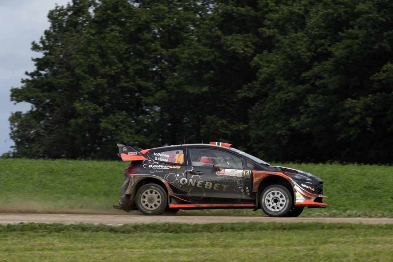01.07.2017 - Mads Ostberg (NOR)-Ola Floene (NOR) Ford Fiesta WRC, M‐Sport World Rally Team