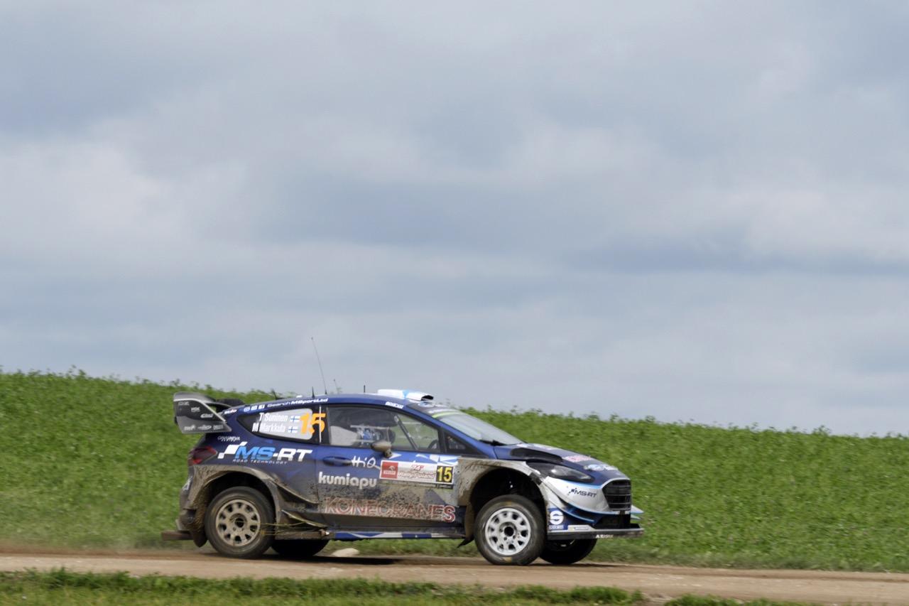 01.07.2017 - Teemu Suninen (FIN) - Mikko Markkula (FIN) Ford Fiesta WRC, M-Sport World Rally Team