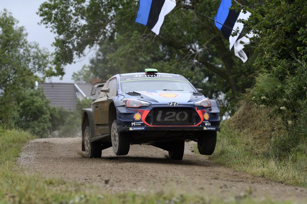 02.07.2017 - Hayden Paddon (NZL)-John Kennard (NZL) Hyundai i20 Coupe WRC, Hyundai Motorsport